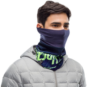 Buff Windproof Nekwarmer, havoc blue